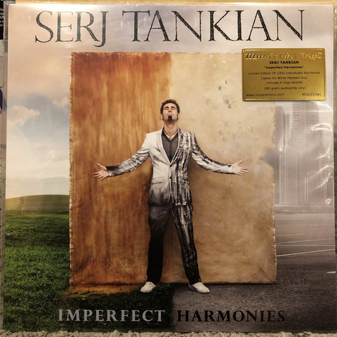 Serj Tankian ‎– Imperfect Harmonies : Music On Vinyl ‎– MOVLP2341 : Vinyl, LP, Album, Limited Edition, Numbered, Reissue, White Marbled