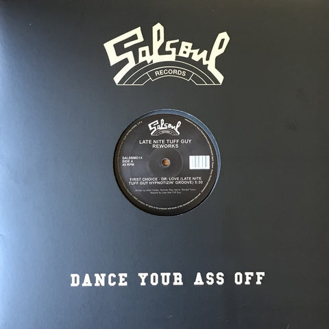 "Various ‎– Late Nite Tuff Guy Reworks Label: Salsoul Records ‎– SALSBMG14 Format: Vinyl, 12"", 33 ⅓ RPM, 45 RPM"