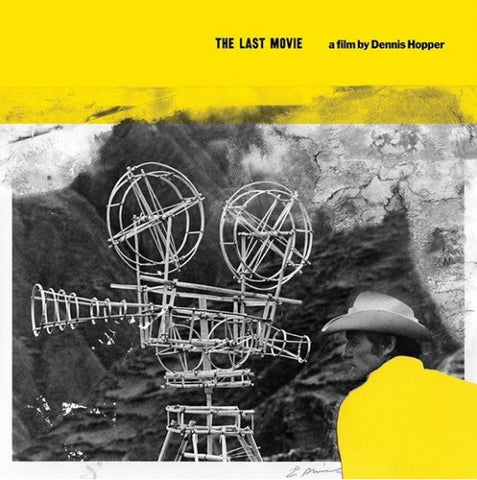 Various ‎– The Last Movie (Original Motion Picture Soundtrack) : Earth (13) ‎– EARTHLP041 : Vinyl, LP, Album, Compilation, Yellow Vinyl, Gatefold sleeve