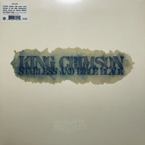 King Crimson ‎– Starless And Bible Black : Discipline Global Mobile ‎– KCLP6, Panegyric ‎– KCLP6 : Vinyl, LP, Album, Reissue, 200 Gram, Gatefold