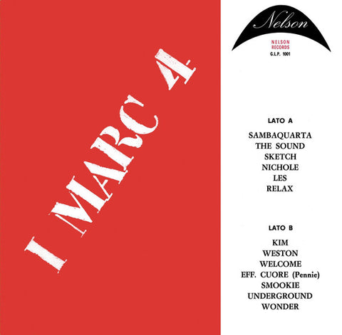 I Marc 4 ‎– I Marc 4 : Sonor Music Editions ‎– SME 34 : Vinyl, LP, Limited Edition, Reissue, Remastered, 180 grams