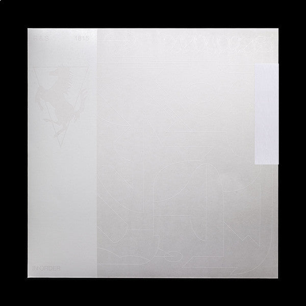 Nicolas Jaar ‎– Nymphs : R & S Records ‎– RS1815 : 3 × Vinyl, LP, Compilation