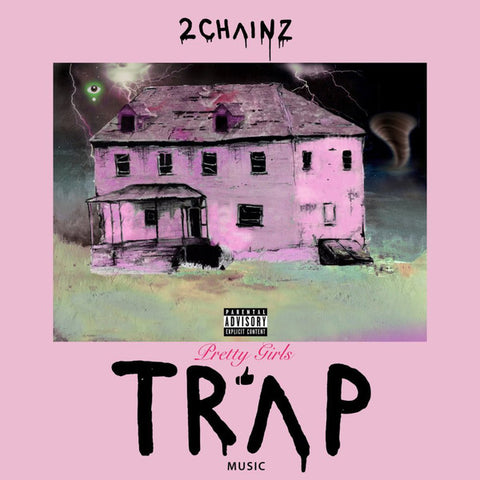 2 Chainz ‎– Pretty Girls Like Trap Music : Def Jam Recordings ‎– B0026491-01 : 2 × Vinyl, LP, Album, Limited Edition, Numbered, Pink