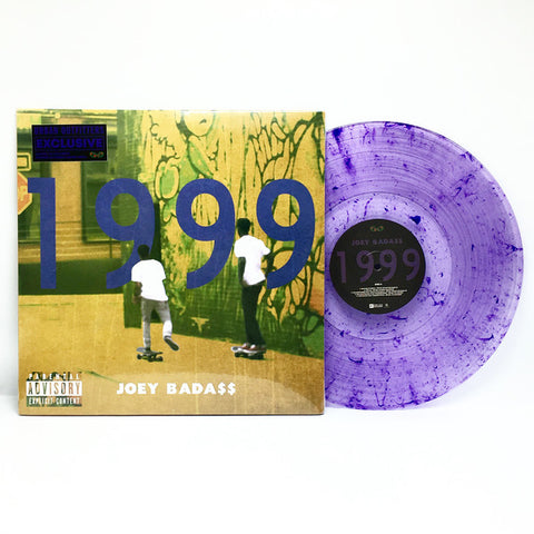Joey Bada$$ ‎– 1999 : Pro Era Records ‎– ERE433 : 2 × Vinyl, LP, Limited Edition, Mixtape, Purple Swirl