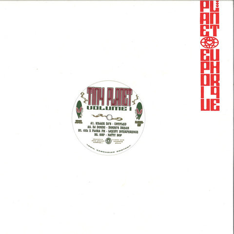 "Various ‎– Tiny Planet Volume 1 : Planet Euphorique ‎– PE007 : Vinyl, 12"", 33 ⅓ RPM"