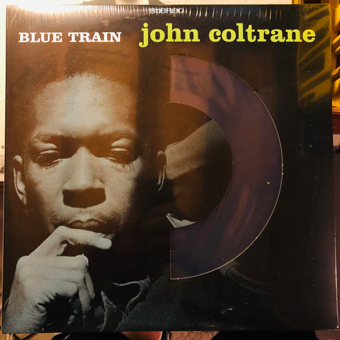 John Coltrane ‎– Blue Train : DOL ‎– DOL709MB : Vinyl, LP, Album, Reissue, Stereo, Blue, 180 Gram, Die-cut Sleeve
