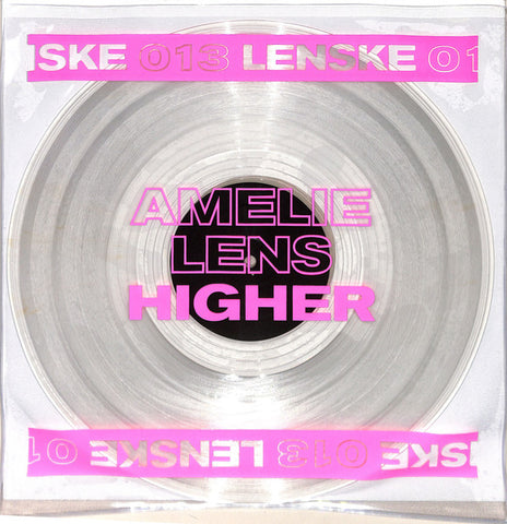 "Amelie Lens ‎– Higher EP : Lenske Records ‎– LENSKE013 : Vinyl, 12"", Clear"