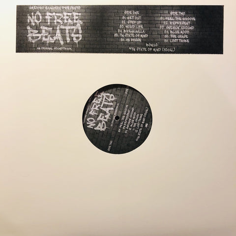 Amerigo Gazaway ‎– OST No Free Beats : Not On Label (Amerigo Gazaway Self-released) ‎– NOFREEBEATS : Vinyl, LP, Stereo