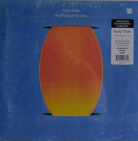 Holy Hive ‎– Float Back To You : Big Crown Records ‎– BC078-LP, Big Crown Records ‎– BC078-LP-C2 : Vinyl, LP, Album, Limited Edition, Blue Seafoam