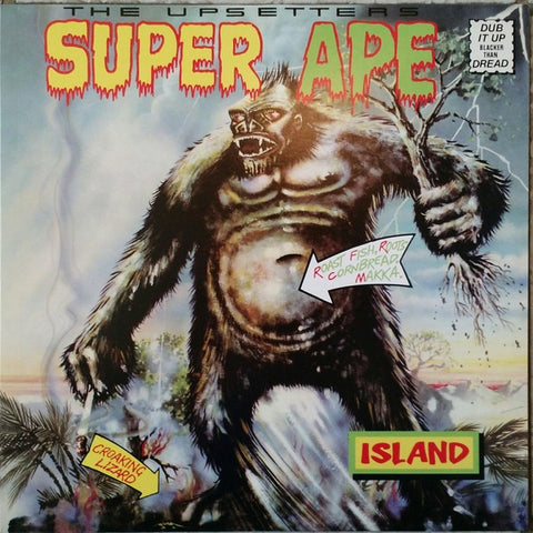 The Upsetters ‎– Super Ape : Island Records ‎– B0018759-01, Get On Down ‎– GET56021-LP, Universal Music Special Markets ‎– B0018759-01 Series: Vinyl Me, Please – July 2015 : Vinyl, LP, Club Edition, Reissue, Green Translucent, 150g