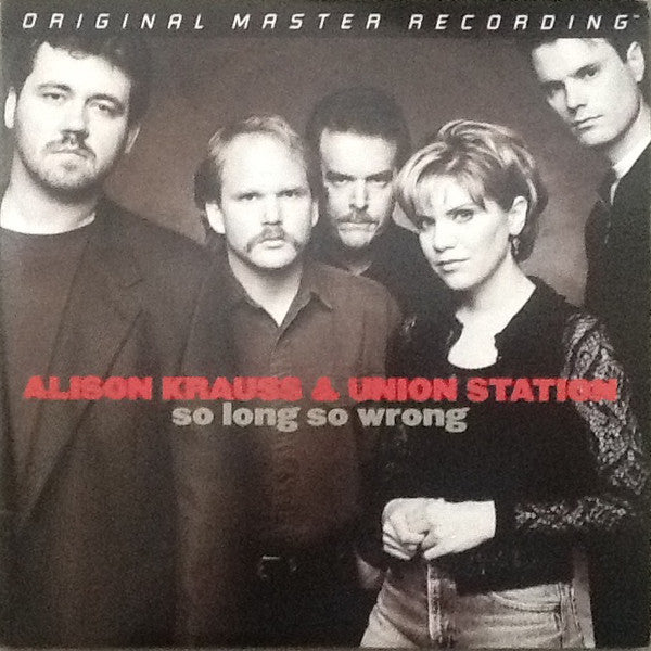 Alison Krauss & Union Station ‎– So Long So Wrong : Mobile Fidelity Sound Lab ‎– MFSL 2-276 Series: GAIN 2™ Ultra Analog LP 180g Series – , Original Master Recording – : 2 × Vinyl, LP, Album, Limited Edition, Numbered, Remastered, Stereo