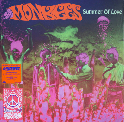 The Monkees ‎– Summer Of Love : Rhino Records (2) ‎– RCV1 560059 Series: 1967 Summer Of Love – : Vinyl, LP, Compilation, Pink & Green Splatter Vinyl