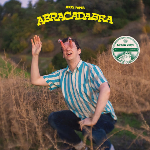 Jerry Paper ‎– Abracadabra : Stones Throw Records ‎– STH2427-4 : Vinyl, LP, Album, Stereo, Green
