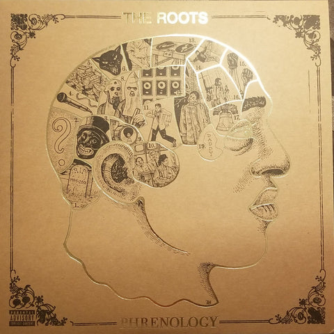 The Roots ‎– Phrenology : Geffen Records ‎– B0029462-01, Universal Music Special Markets ‎– B0029462-01 Series: Vinyl Me, Please. Essentials – E086 : 2 × Vinyl, LP, Album, Club Edition, Reissue, Remastered, Brown Marbled, 180g