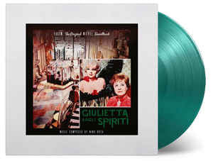 Nino Rota ‎– Giulietta Degli Spiriti- OST : Music On Vinyl ‎– MOVATM006 : Vinyl, LP, Album, Limited Edition, On Green Vinyl