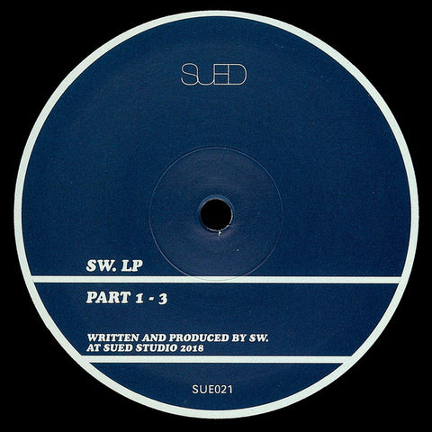 "SW. ‎– LP : SUED ‎– SUE021 : Vinyl, 12"", 33 ⅓ RPM, Mini-Album"