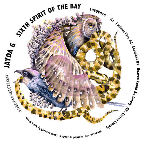 "Jayda G ‎– Sixth Spirit Of The Bay : 1080p ‎– 1080v016 : Vinyl, 12"", EP"