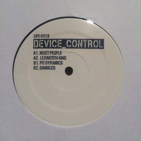 "Device Control (2) ‎– Device Control : L.I.E.S. (Long Island Electrical Systems) ‎– LIES031.5 : Vinyl, 12"", EP"