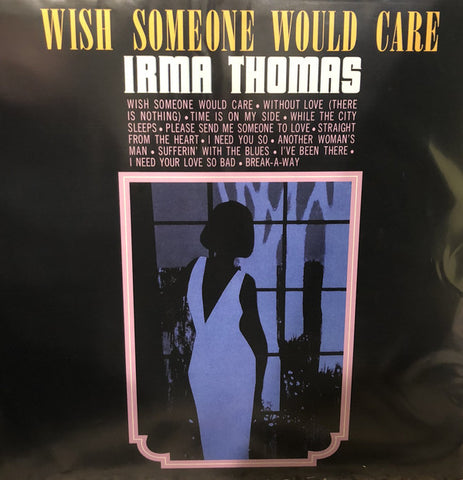 Irma Thomas ‎– Wish Someone Would Care : Capitol Records ‎– B0027439-01 : Vinyl, LP, Club Edition, Limited Edition, Numbered, Reissue, Blue w/ Pink Marbling