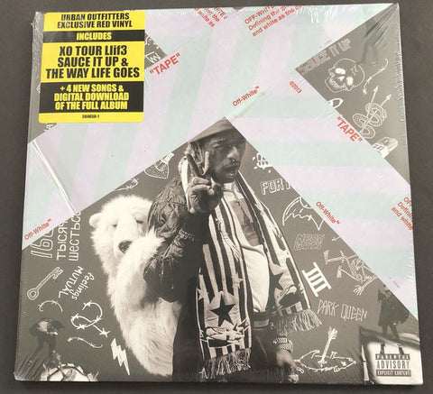 Lil Uzi Vert ‎– Luv Is Rage 2 : Atlantic ‎– 564914-1, Generation Now ‎– 564914-1 : 2 × Vinyl, LP, Album, Deluxe Edition, Limited Edition, Red