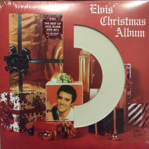 Elvis Presley ‎– Elvis' Christmas Album : DOL ‎– DOS606, Vinylogy LLC ‎– DOS606 : Vinyl, LP, Album, Limited Edition, Reissue, Mono, White Vinyl