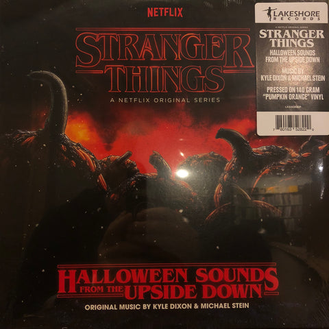 Kyle Dixon (2) & Michael Stein (9) ‎– Stranger Things: Halloween Sounds From The Upside Down : Lakeshore Records ‎– LSINV214LP : Vinyl, LP, Album, Pumpkin Orange