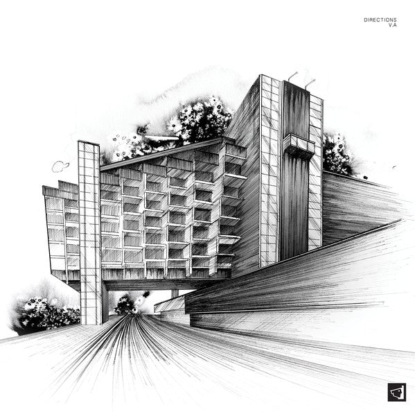 "Various ‎– Directions : Berg Audio ‎– BERGAMON08 : 2 × Vinyl, 12"", Compilation"