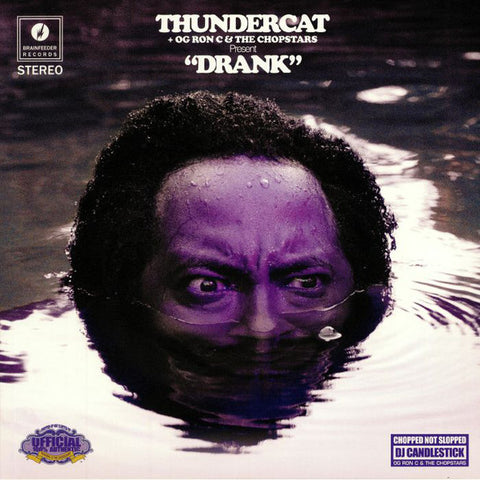 Thundercat + OG Ron C* & The Chopstars ‎– Drank : Brainfeeder ‎– BF067 : 2 × Vinyl, LP, Purple