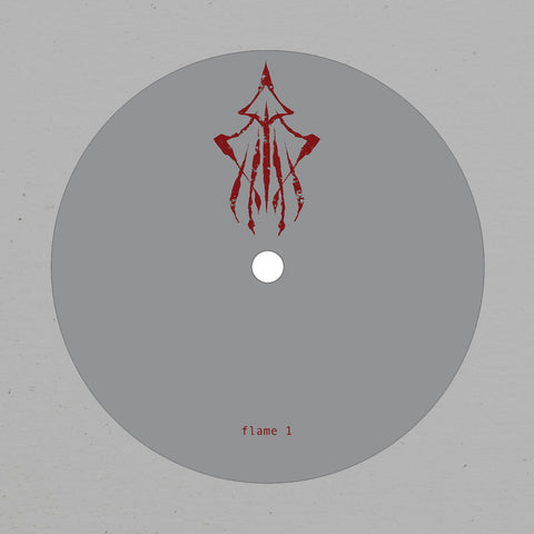 Flame 1 (Burial & The Bug) - Fog / Shrine - Pressure SI-PRESH-001 - Vinyl, 12""