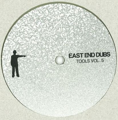 "East End Dubs ‎– Tools Vol. 5 : East End Dubs Vinyl ‎– EEDV006 : Vinyl, 12"", Clear"