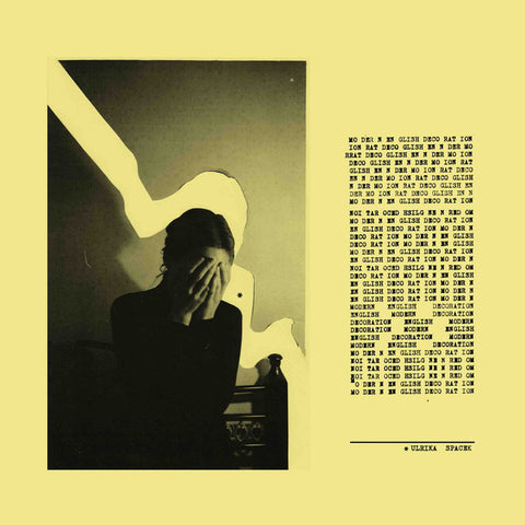 Ulrika Spacek ‎– Modern English Decoration : Tough Love Records ‎– TLV098 : Vinyl, LP, Album, Limited Edition, Mellow Yellow