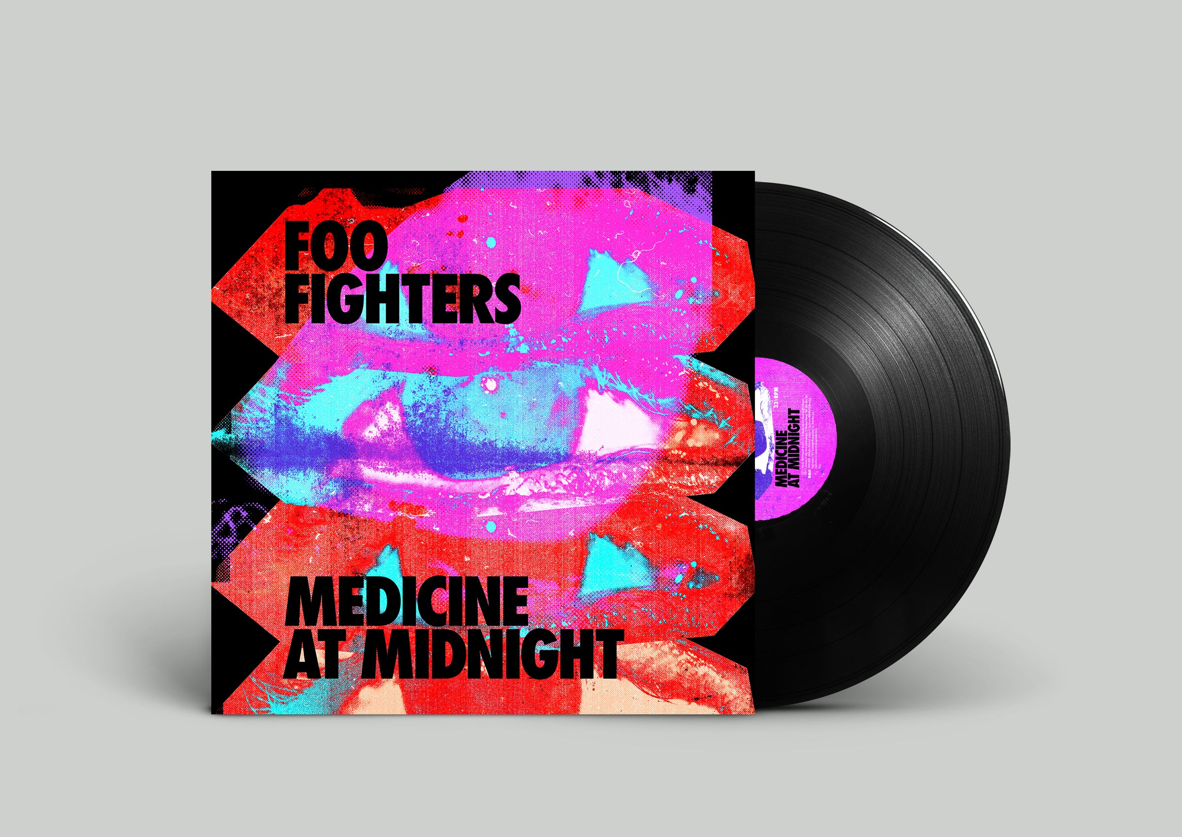 Foo Fighters - Medicine At Midnight [LP] (Black 140 Gram Vinyl, insert)