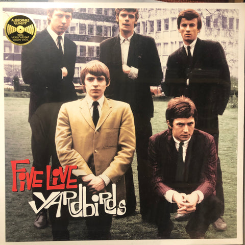 Yardbirds* ‎– Five Live Yardbirds : Replay (14) ‎– RPLP8110 : Vinyl, LP, Album, Reissue, 180g