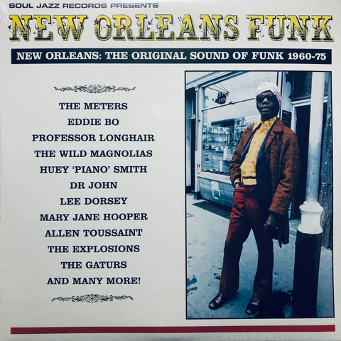 Various ‎– New Orleans Funk (New Orleans: The Original Sound Of Funk 1960-75) : Soul Jazz Records ‎– SJR LP47 Series: New Orleans Funk – : 3 × Vinyl, LP, Compilation, Repress