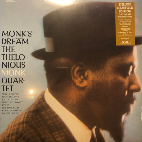 The Thelonious Monk Quartet ‎– Monk's Dream : DOL ‎– DOL1020HG : Vinyl, LP, Album, Reissue, Mono, 180g Gatefold