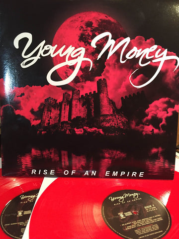 Young Money ‎– Rise Of An Empire : Not On Label ‎– YOUNGEMPIRE001 : 2 × Vinyl, LP, Limited Edition, Numbered, Unofficial Release, Red