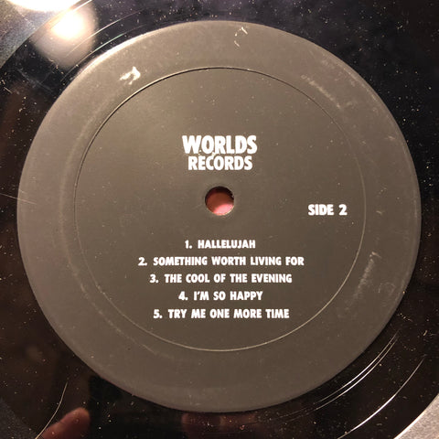 George Harrison ‎– George Harrison Live : Worlds Records ‎– none : Vinyl, LP, Unofficial Release