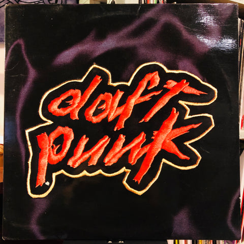 Daft Punk ‎– Homework : Virgin ‎– V 2821, Virgin ‎– 7243 8 42609 10, Soma Quality Recordings ‎– V 2821 : 2 × Vinyl, LP, Album, Embossed Cover