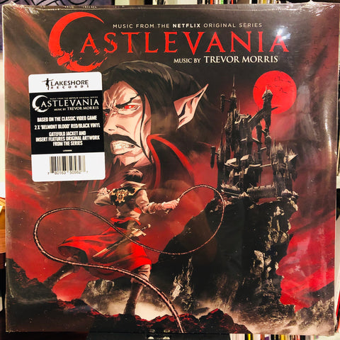 Trevor Morris ‎– Castlevania (Music From The Netflix Original Series) : Lakeshore Records ‎– LKS35056 : 2 × Vinyl, LP, Album, 'Belmont Blood' Red/Black