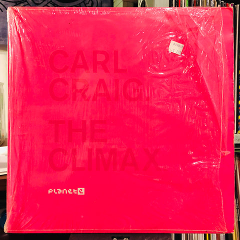 "Carl Craig ‎– The Climax : Planet E ‎– PE65263 : Vinyl, 12"", 33 ⅓ RPM, White"