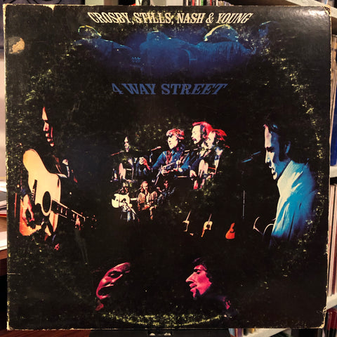 Crosby, Stills, Nash & Young ‎– 4 Way Street : Atlantic ‎– SD 2-902 : 2 × Vinyl, LP, Album, RI-Philips Pressing, Gatefold
