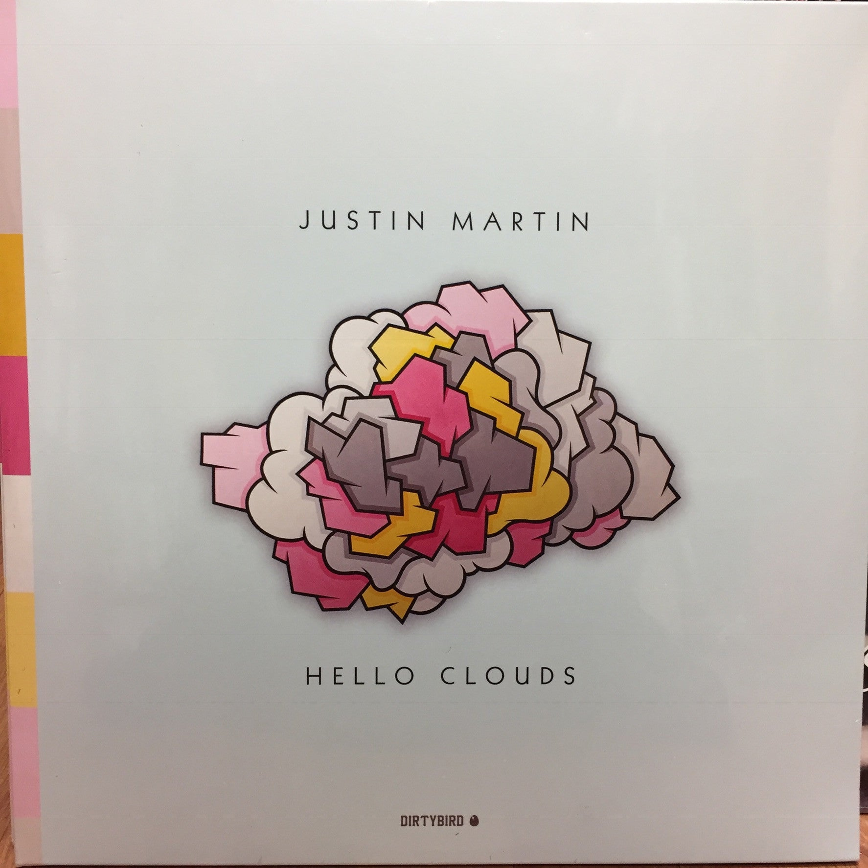 "Justin Martin ‎– Hello Clouds : Dirtybird ‎– DB137 : 2 × Vinyl, 12"", Album"