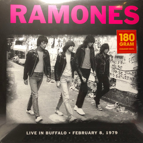 Ramones ‎– Live In Buffalo, February 8, 1979 : DOL ‎– DOR2031H : Vinyl, LP, Unofficial Release