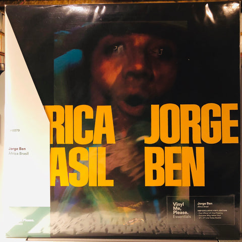 Jorge Ben ‎– África Brasil : Universal Music Special Markets ‎– 6349.187 Series: Vinyl Me, Please. Essentials – E079 : Vinyl, LP, Album, Club Edition, Limited Edition, Reissue, Stereo, 180g, Yellow