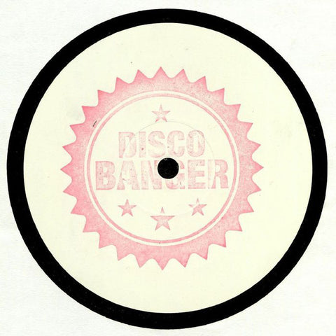 "Red Rack'Em ‎– Deep In Love : Disco Banger ‎– DB001 : Vinyl, 12"", White Label, hand stamped"