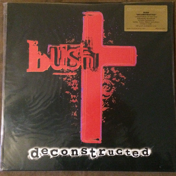 Bush - Deconstructed - Music On Vinyl - MOVLP1294 - 2xLP, Ltd, Num, RE, Red