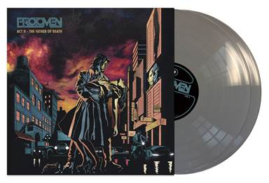 Protomen, The - Act II: The Father Of Death (Deluxe)  [2LP] (Metallic Silver 180 Gram Vinyl, Hardback Pop-Up Book Gatefold, first time on vinyl, download, 2 letter inserts, limited to 350)  Sound Machine Records  SMVL07