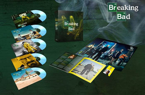 Various - Breaking Bad (Music From The Original TV Series) - M,usic On Vinyl : At The Movies - 5xLP Box Set, Color Vinyl, Ltd Edt 5000 Numbered