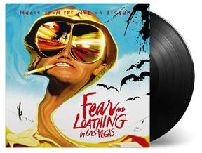 Various Artists - Fear And Loathing In Las Vegas (Soundtrack) - 2LP, LIMITED 'BAT COUNTRY' BLACK 180 Gram Audiophile Vinyl, first time on vinyl, ltd fold-out poster, etched side, #'d to 2500, import