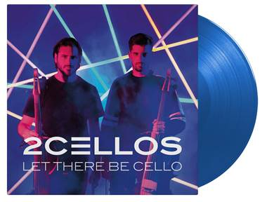 2Cellos - Let There Be Cello [LP] (LIMITED TRANSPARENT BLUE 180 Gram Audiophile Vinyl, gatefold, brand new 2018 album, numbered to 1500)
